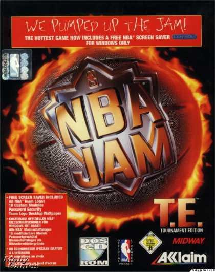 DOS Games - NBA Jam Tournament Edition