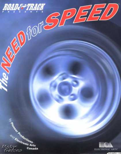 DOS Games - The Need for Speed