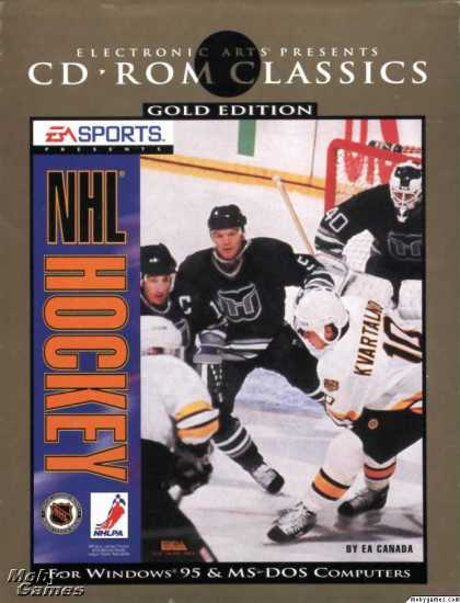 DOS Games - NHL Hockey