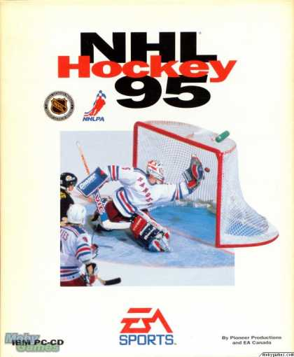 DOS Games - NHL Hockey 95