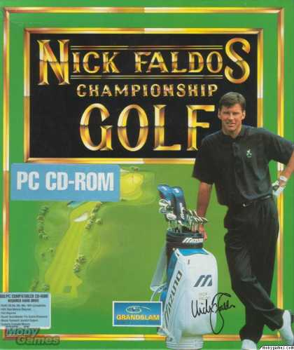 DOS Games - Nick Faldo's Championship Golf
