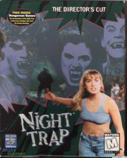 DOS Games - Night Trap