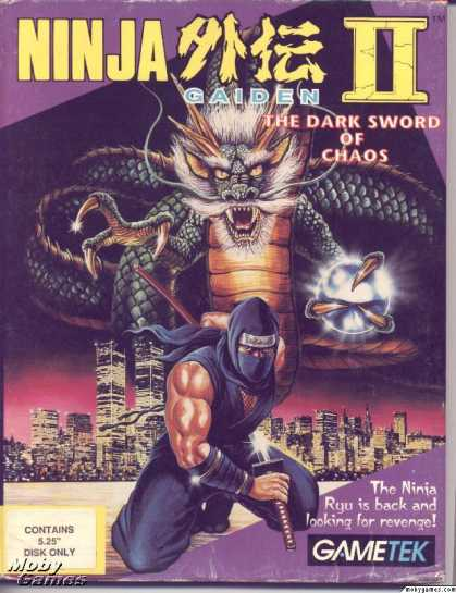 DOS Games - Ninja Gaiden II: The Dark Sword of Chaos