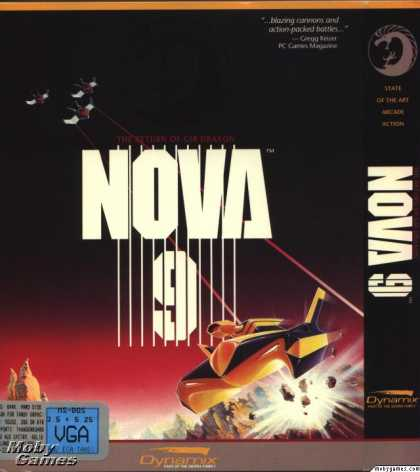 DOS Games - Nova 9: Return of Gir Draxon
