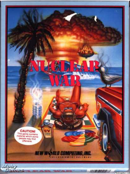 DOS Games - Nuclear War