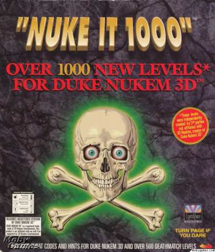 DOS Games - Nuke It 1000