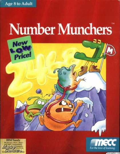 DOS Games - Number Munchers