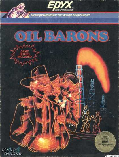 DOS Games - Oil Barons