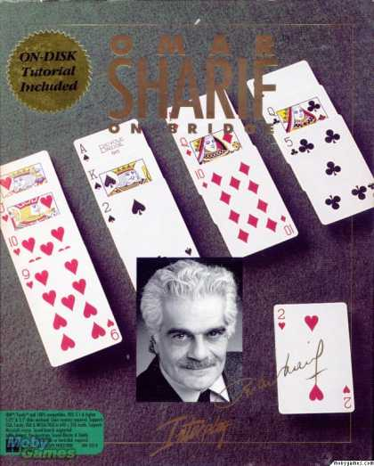 DOS Games - Omar Sharif on Bridge