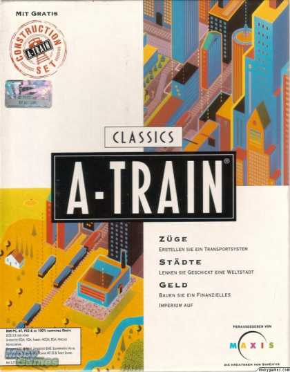 DOS Games - A-Train + Construction Set