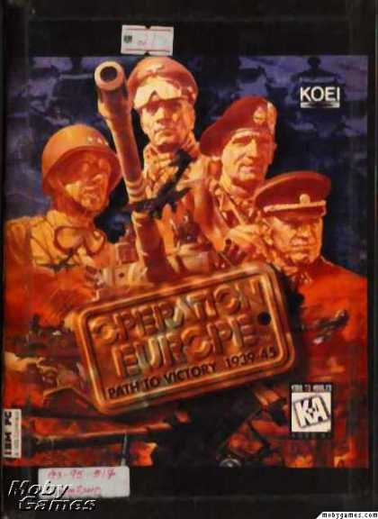 DOS Games - Operation Europe: Path to Victory 1939-45