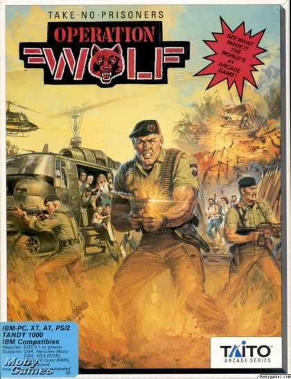 DOS Games - Operation Wolf