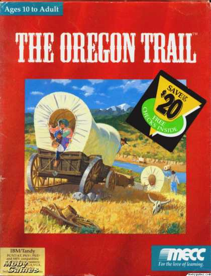 DOS Games - The Oregon Trail