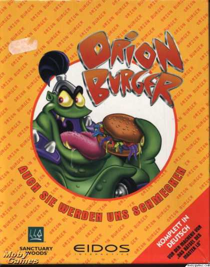 DOS Games - Orion Burger