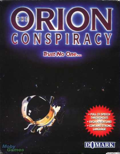 DOS Games - The Orion Conspiracy