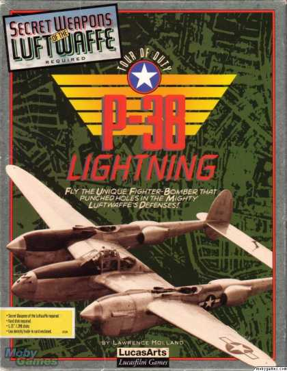 DOS Games - P-38 Lightning Tour Of Duty