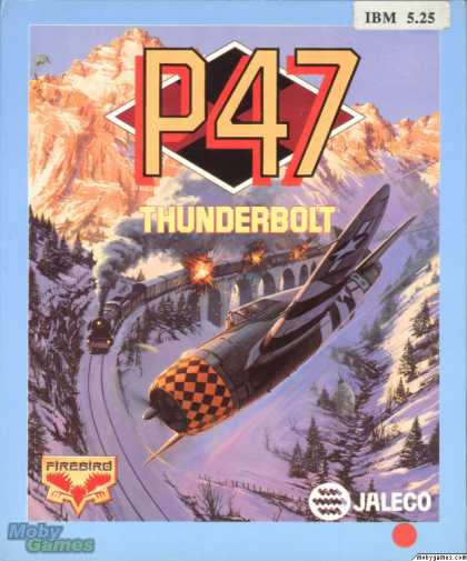 DOS Games - P-47 Thunderbolt: The Freedom Fighter