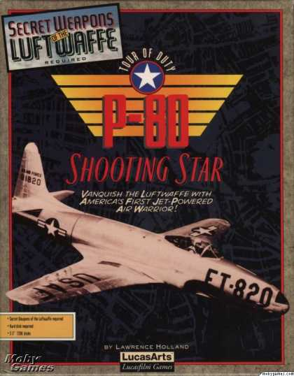 DOS Games - P-80 Shooting Star Tour Of Duty
