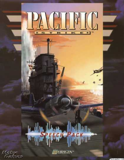 DOS Games - Pacific Strike Speech Pack