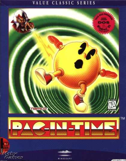 DOS Games - Pac-in-Time