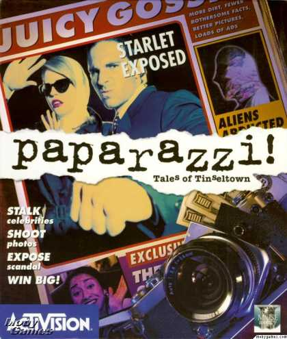 DOS Games - Paparazzi!: Tales of Tinseltown