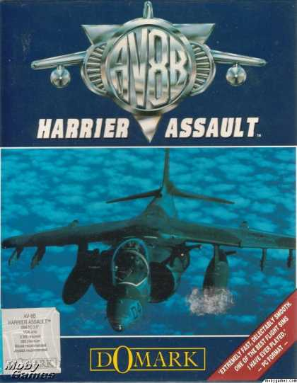 DOS Games - AV8B Harrier Assault