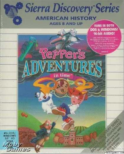 DOS Games - Pepper's Adventures in Time