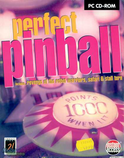 DOS Games - Perfect Pinball