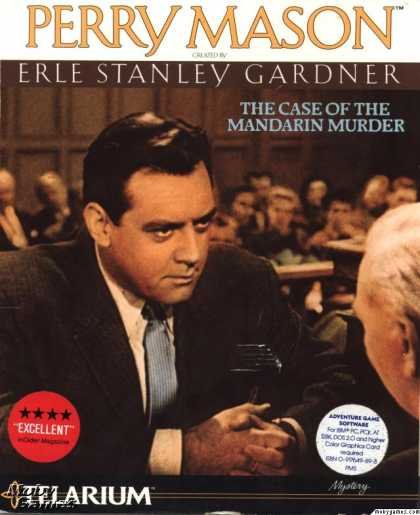 DOS Games - Perry Mason: The Case of the Mandarin Murder