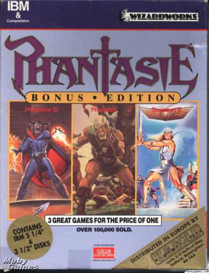 DOS Games - Phantasie Bonus Edition