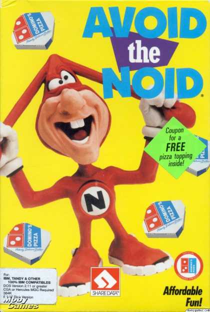 DOS Games - Avoid the Noid