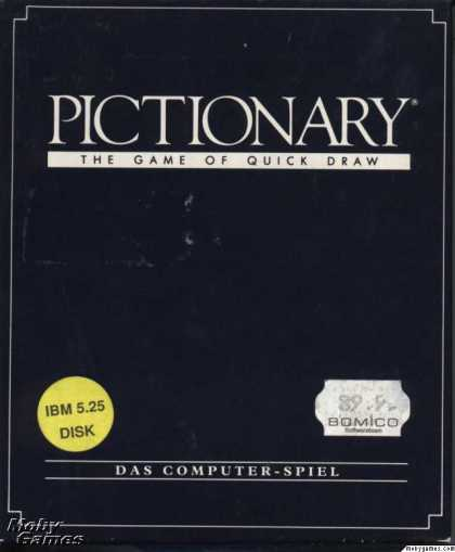 DOS Games - Pictionary