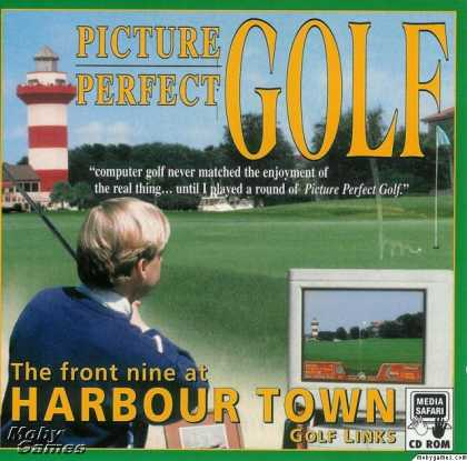 DOS Games - Picture Perfect Golf