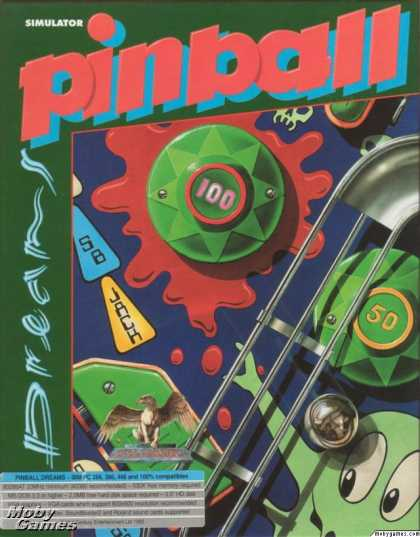 DOS Games - Pinball Dreams