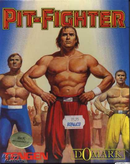 DOS Games - Pit-Fighter
