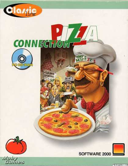 DOS Games - Pizza Tycoon
