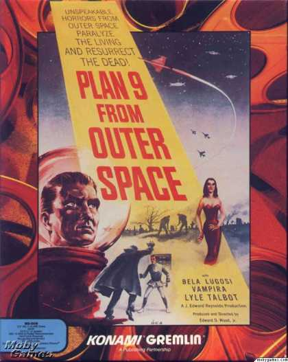 DOS Games - Plan 9 From Outer Space