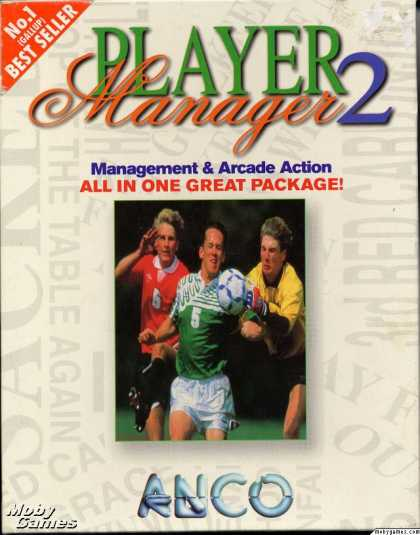 DOS Games - Player Manager 2