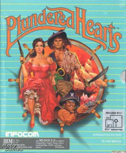 DOS Games - Plundered Hearts