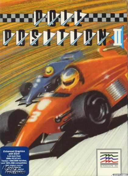 DOS Games - Pole Position II