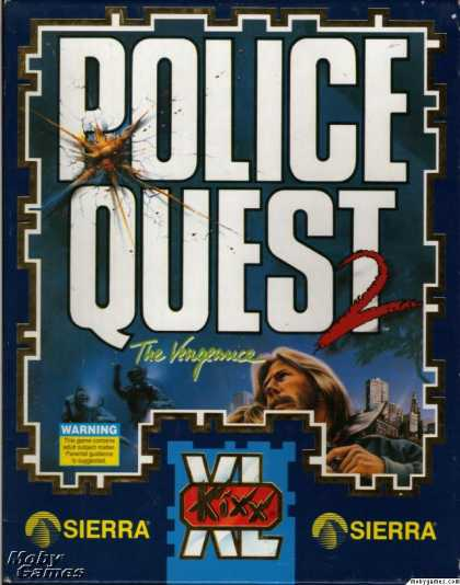 DOS Games - Police Quest 2: The Vengeance