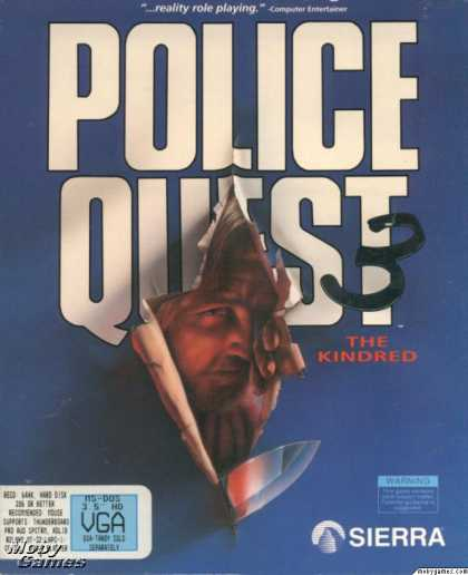 DOS Games - Police Quest 3: The Kindred