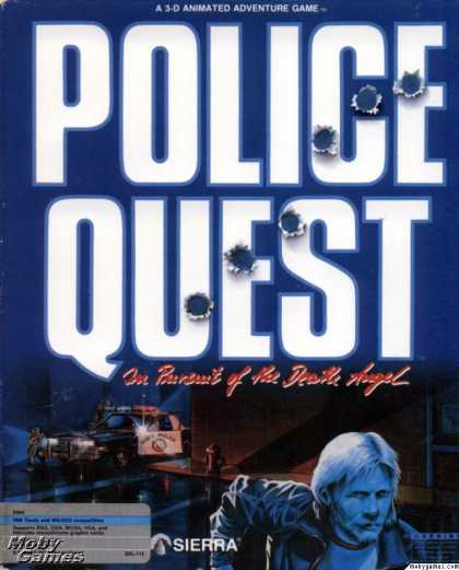 DOS Games - Police Quest: In Pursuit of the Death Angel