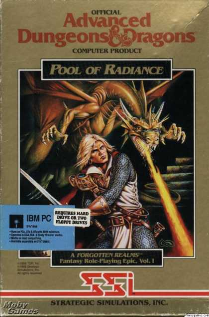 DOS Games - Pool of Radiance
