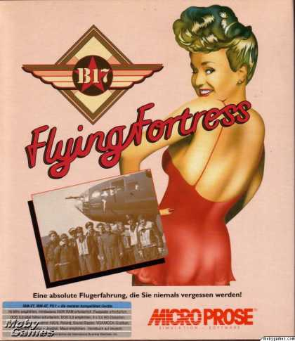 DOS Games - B-17 Flying Fortress