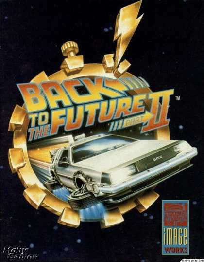 DOS Games - Back to the Future Part II