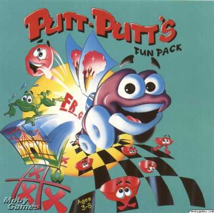 DOS Games - Putt-Putt's Fun Pack