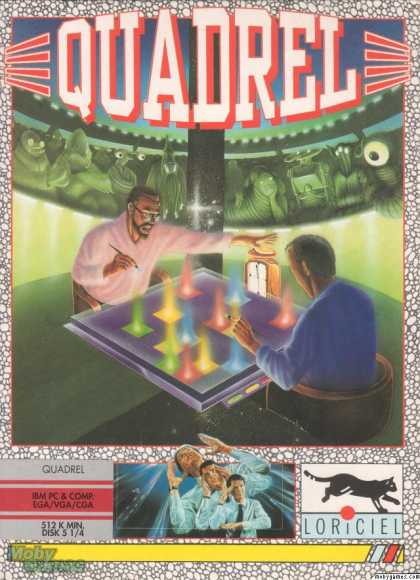 DOS Games - Quadrel