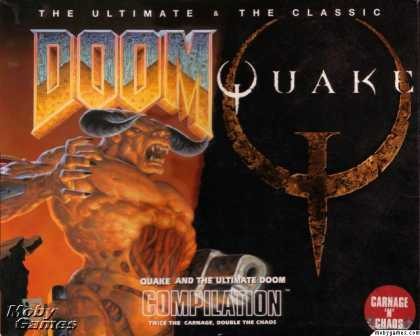 DOS Games - Quake and The Ultimate DOOM Compilation
