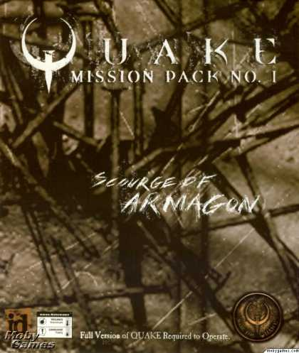 DOS Games - Quake Mission Pack No 1: Scourge of Armagon